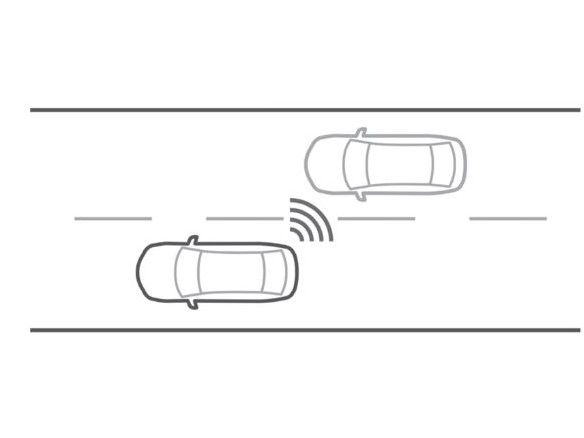 ADVANCED BLIND SPOT MONITORING