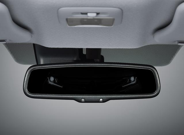 กระจกมองหลัง ปรับลดแสงสะท้อนอัตโนมัติ  (เฉพาะรุ่น GLS-LTD)